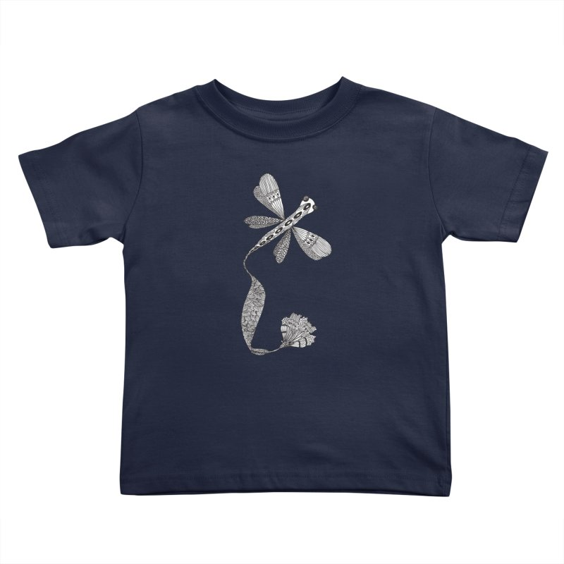 Stylish Dragonfly Kids Toddler T-Shirt by Cutedesigning's Artist Shop