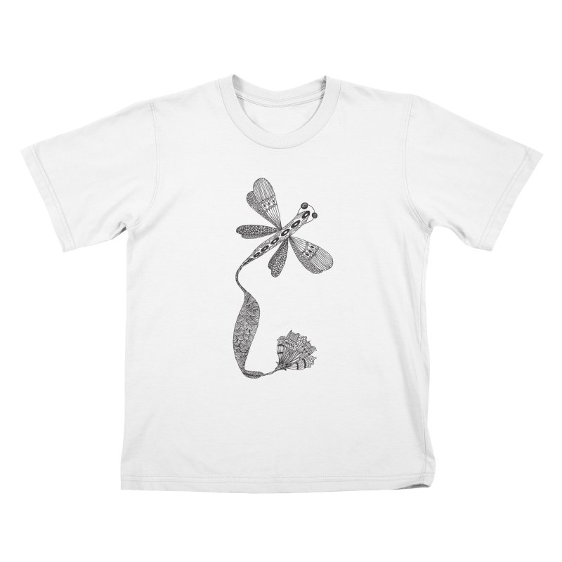 Stylish Dragonfly Kids T-Shirt by Cutedesigning's Artist Shop