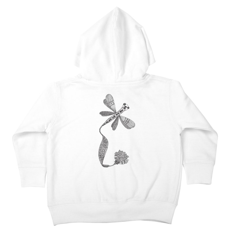 Stylish Dragonfly Kids Toddler Zip-Up Hoody by Cutedesigning's Artist Shop