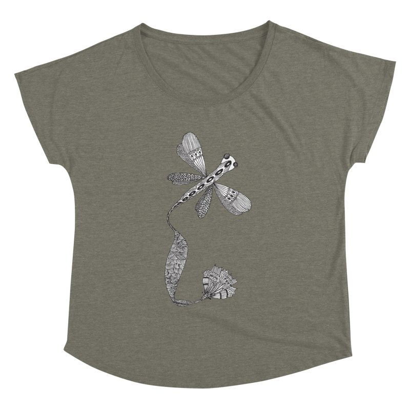 Stylish Dragonfly Women's Dolman by Cutedesigning's Artist Shop