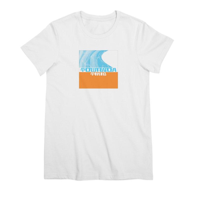 Towanda Tikis Logo Women's Premium T-Shirt by Cy The Elephart's phArtist Shop