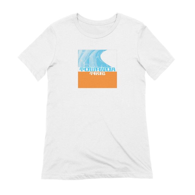 Towanda Tikis Logo Women's Extra Soft T-Shirt by Cy The Elephart's phArtist Shop