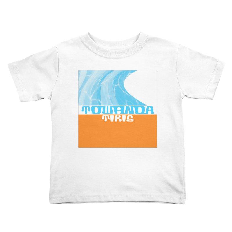 Towanda Tikis Logo Kids Toddler T-Shirt by Cy The Elephart's phArtist Shop