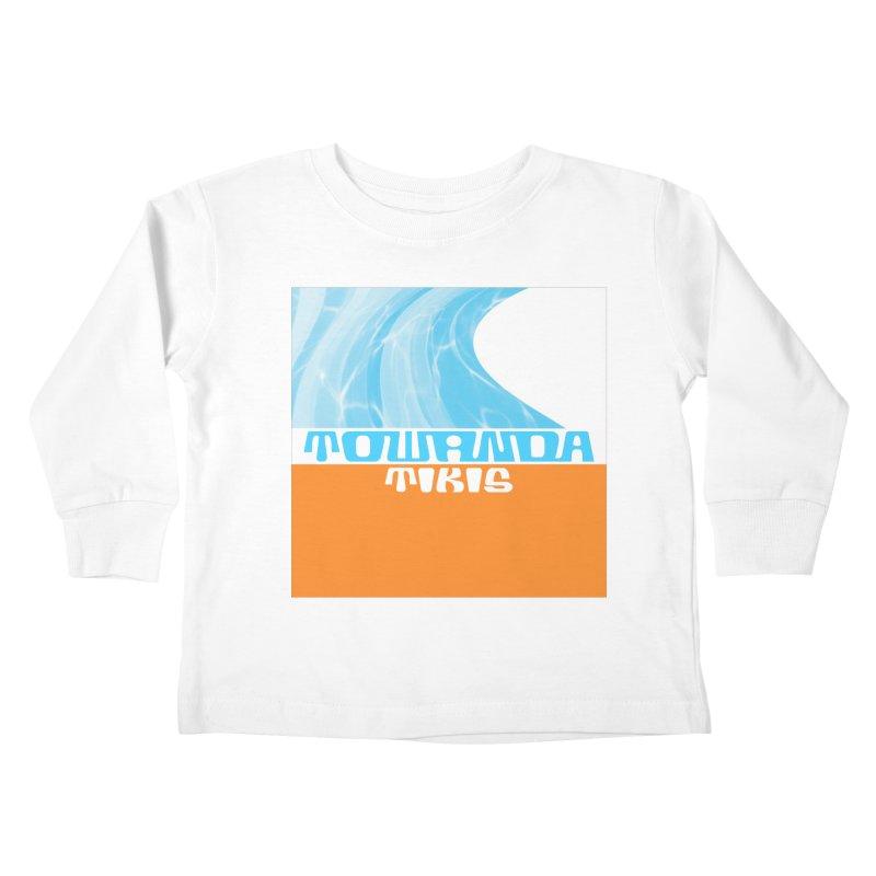 Towanda Tikis Logo Kids Toddler Longsleeve T-Shirt by Cy The Elephart's phArtist Shop