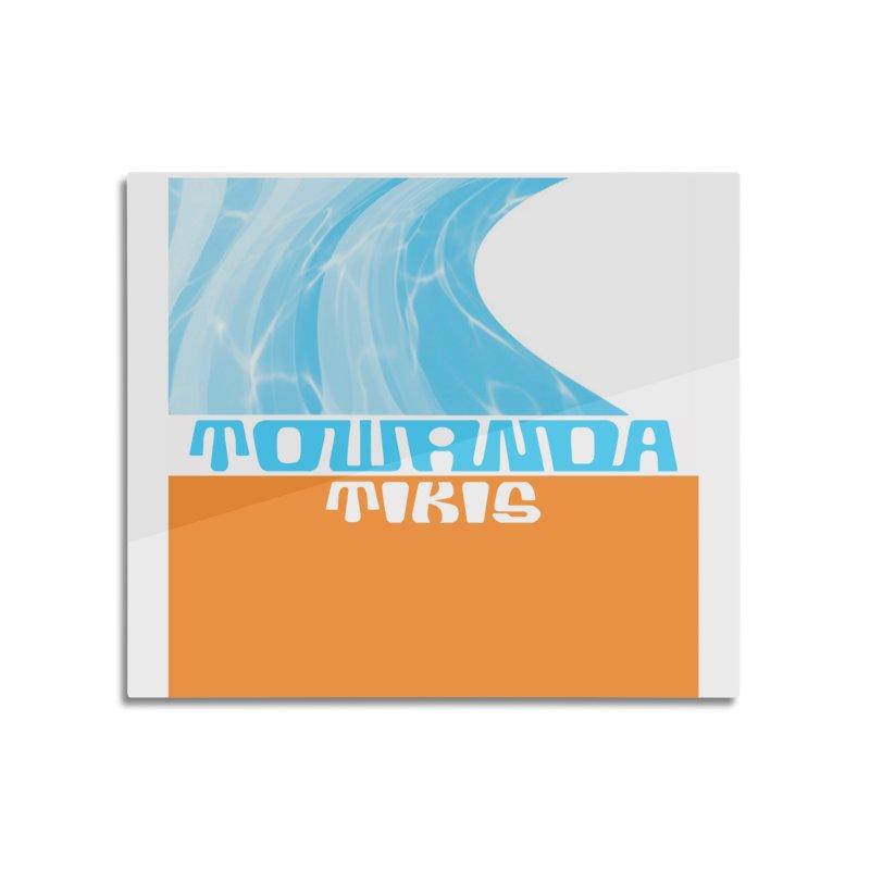 Towanda Tikis Logo Home Mounted Acrylic Print by Cy The Elephart's phArtist Shop