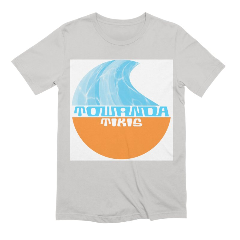 Towanda Tiki Circle Logo Men's Extra Soft T-Shirt by Cy The Elephart's phArtist Shop