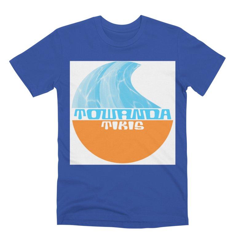 Towanda Tiki Circle Logo Men's Premium T-Shirt by Cy The Elephart's phArtist Shop
