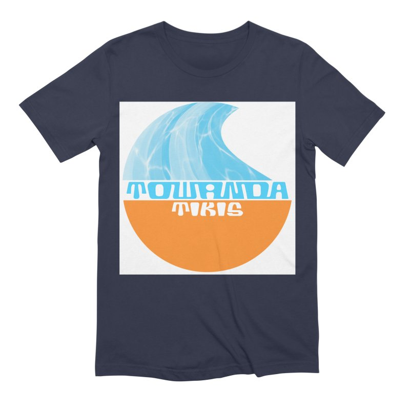 Towanda Tiki Circle Logo Men's T-Shirt by Cy The Elephart's phArtist Shop