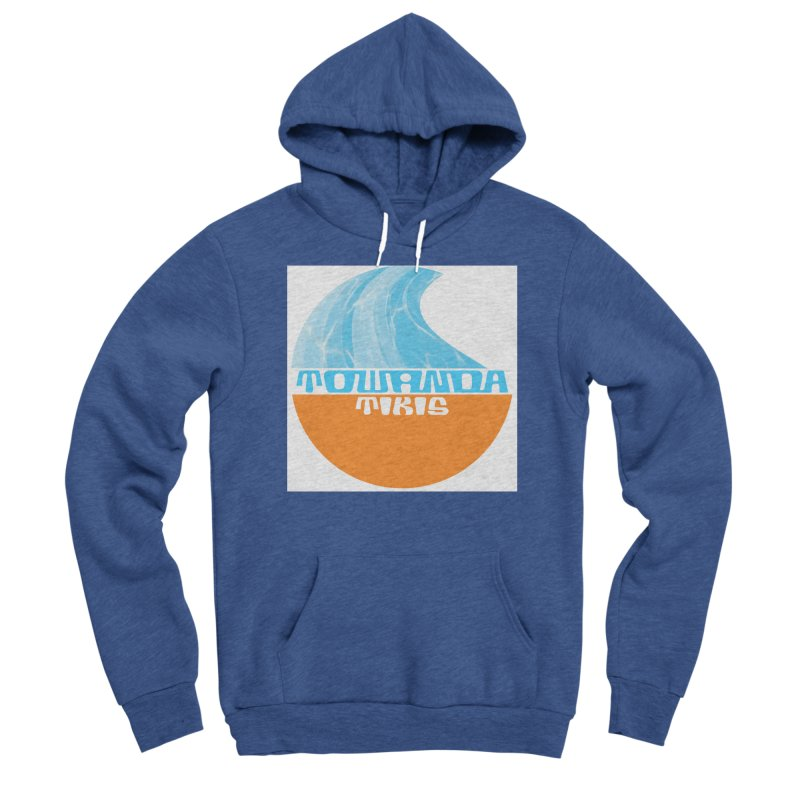 Towanda Tiki Circle Logo Men's Sponge Fleece Pullover Hoody by Cy The Elephart's phArtist Shop