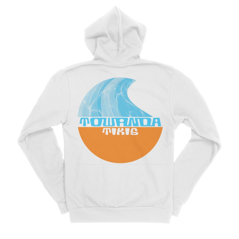 Towanda Tiki Circle Logo Women's Zip-Up Hoody by Cy The Elephart's phArtist Shop
