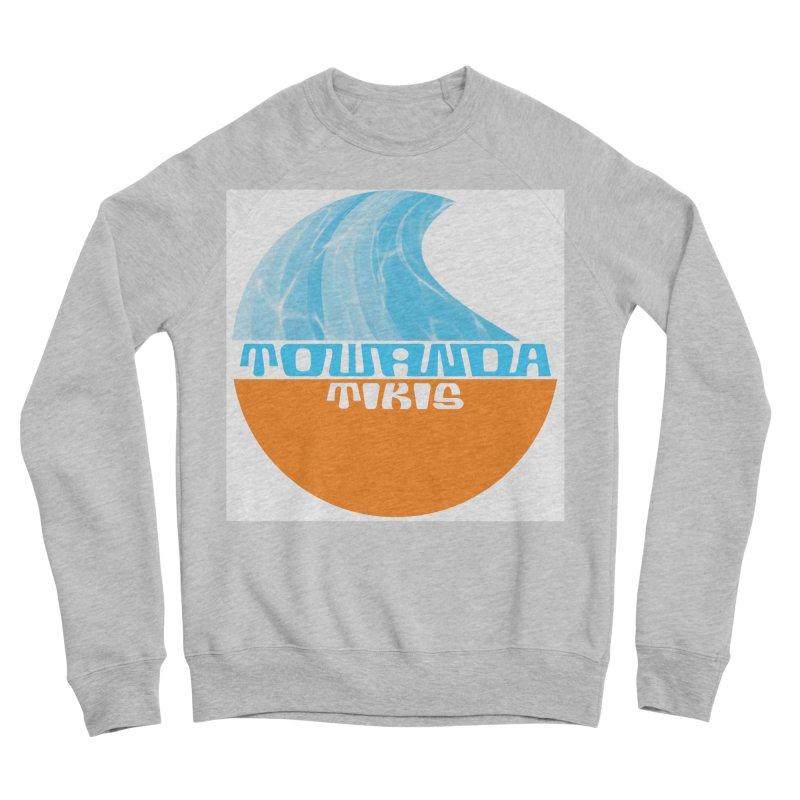 Towanda Tiki Circle Logo Men's Sponge Fleece Sweatshirt by Cy The Elephart's phArtist Shop