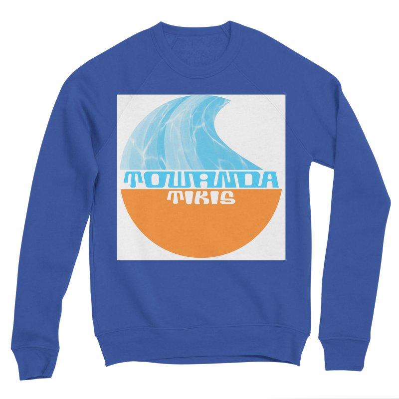 Towanda Tiki Circle Logo Men's Sweatshirt by Cy The Elephart's phArtist Shop