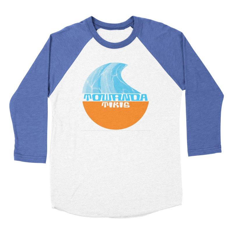 Towanda Tiki Circle Logo Men's Longsleeve T-Shirt by Cy The Elephart's phArtist Shop