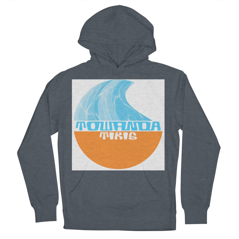 Towanda Tiki Circle Logo Men's French Terry Pullover Hoody by Cy The Elephart's phArtist Shop