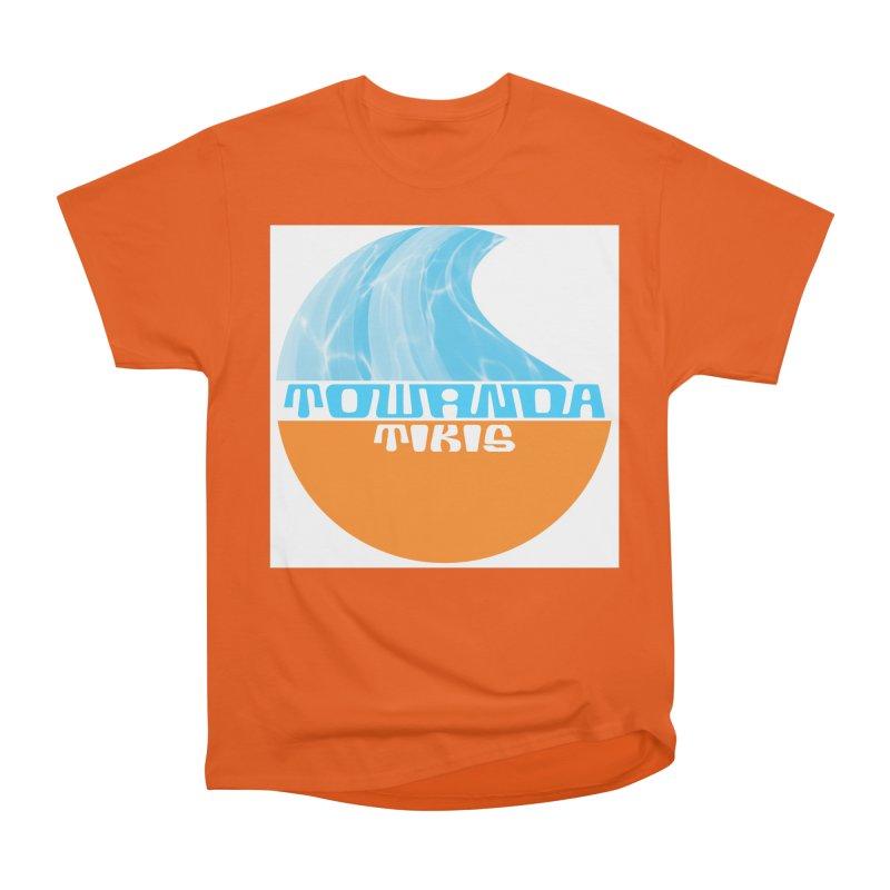 Towanda Tiki Circle Logo Men's T-Shirt by Cy The Elephart's phArtist Shop