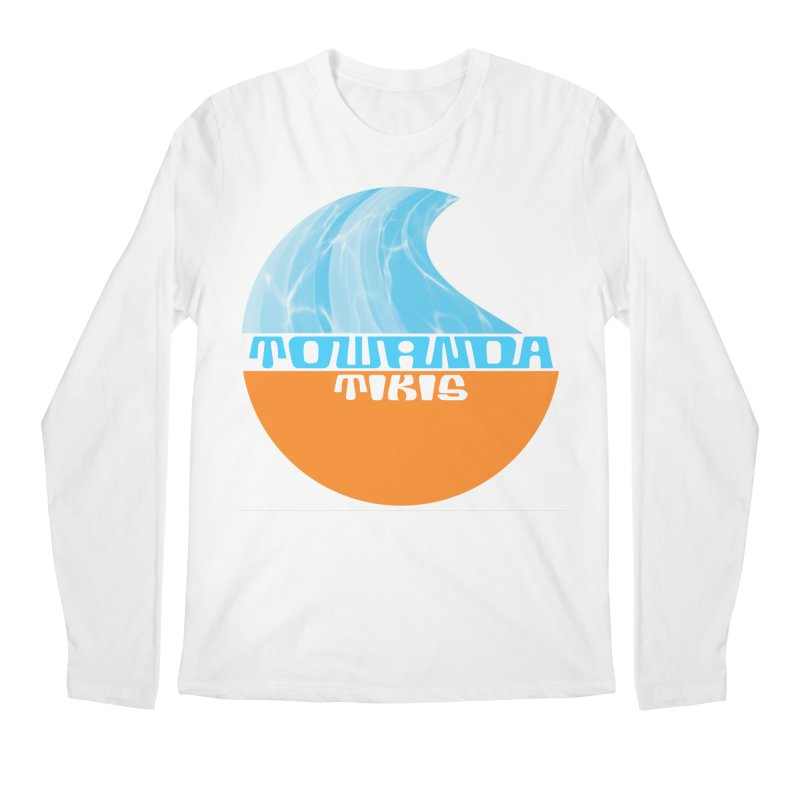 Towanda Tiki Circle Logo Men's Regular Longsleeve T-Shirt by Cy The Elephart's phArtist Shop