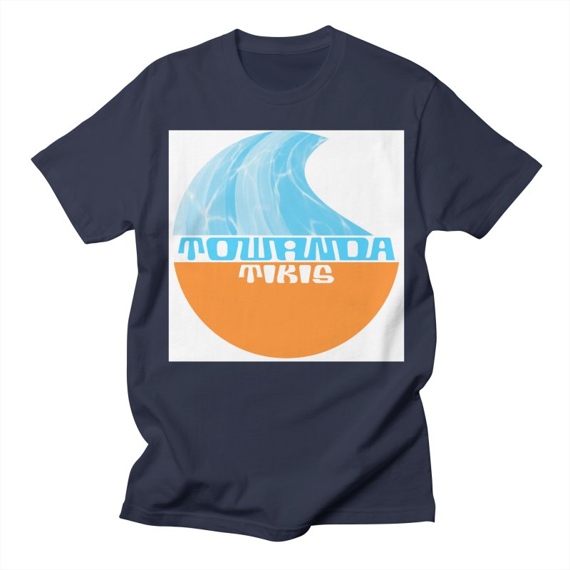 Towanda Tiki Circle Logo Men's Regular T-Shirt by Cy The Elephart's phArtist Shop