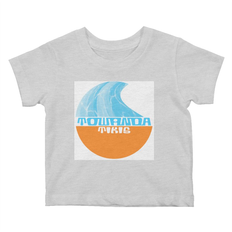 Towanda Tiki Circle Logo Kids Baby T-Shirt by Cy The Elephart's phArtist Shop