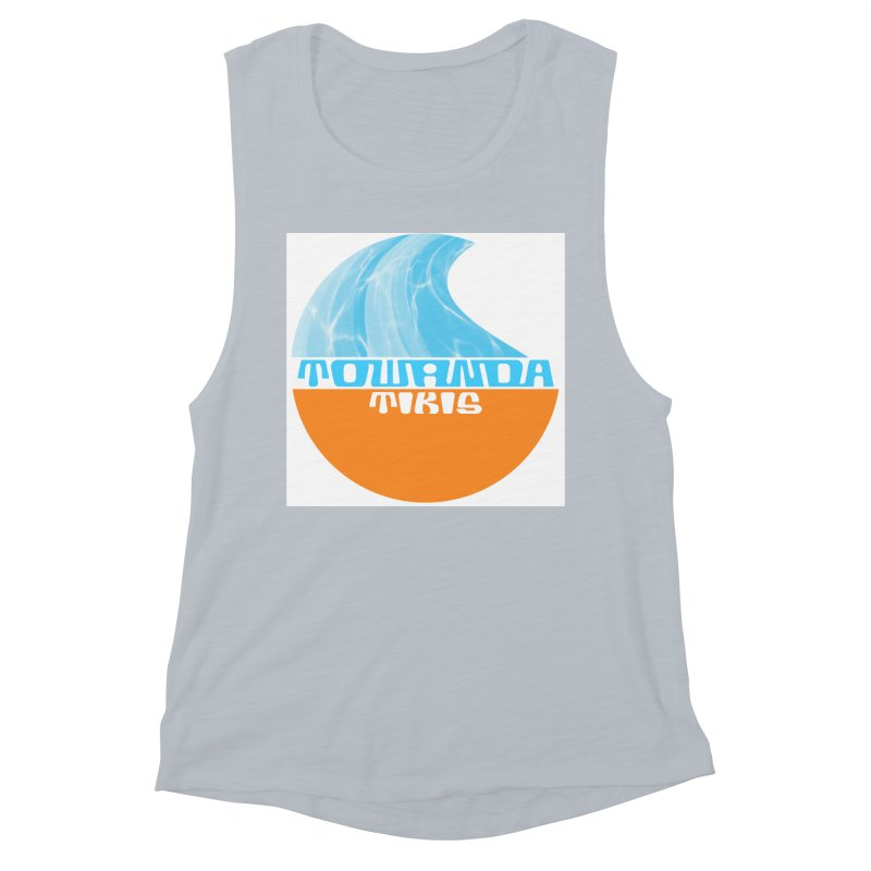 Towanda Tiki Circle Logo Women's Tank by Cy The Elephart's phArtist Shop