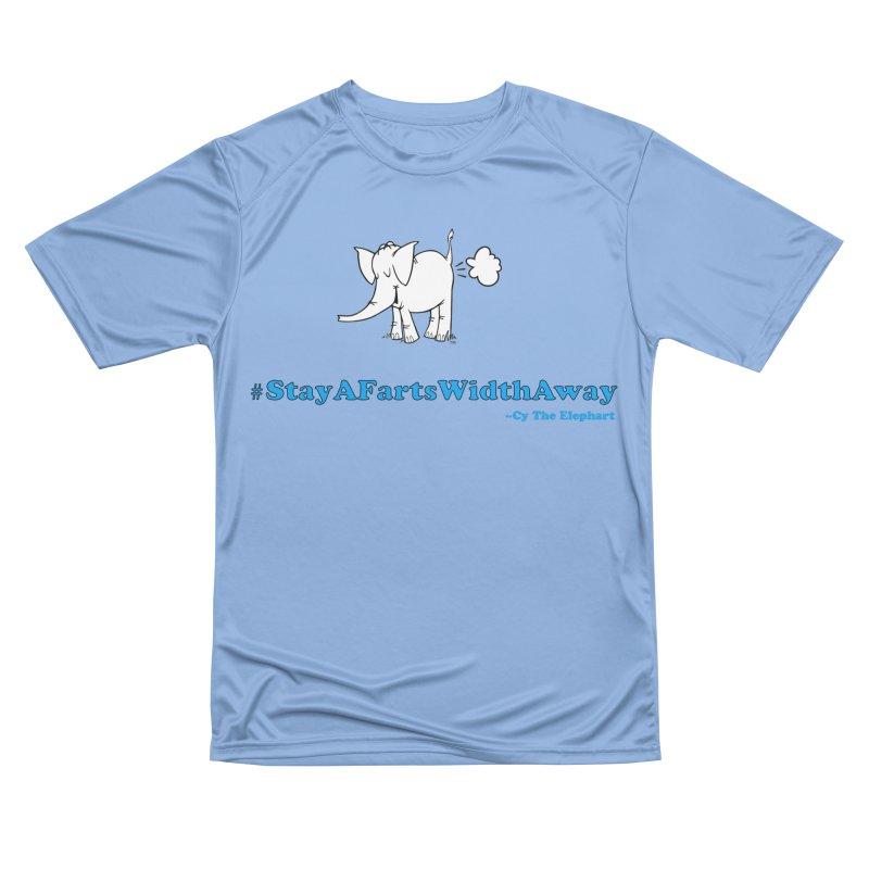 #StayAFartsWidthAway  Love Cy The ElephArt Women's T-Shirt by Cy The Elephart's phArtist Shop
