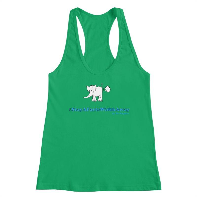 #StayAFartsWidthAway  Love Cy The ElephArt Women's Tank by Cy The Elephart's phArtist Shop