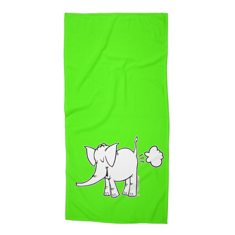 Cy The ElephArt Accessories Beach Towel by Cy The Elephart's phArtist Shop