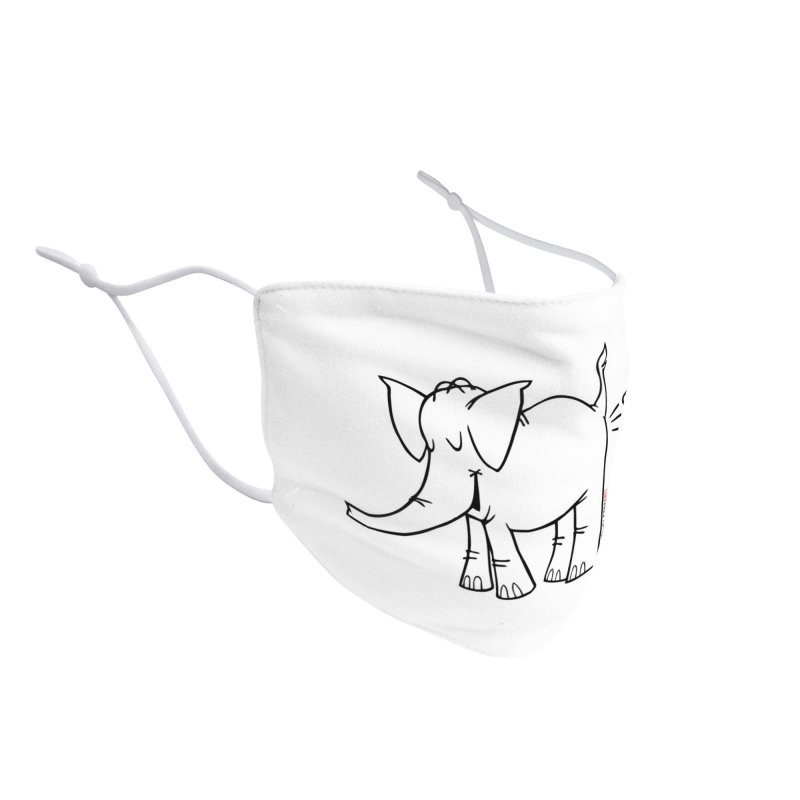 Cy The ElephArt Accessories Face Mask by Cy The Elephart's phArtist Shop