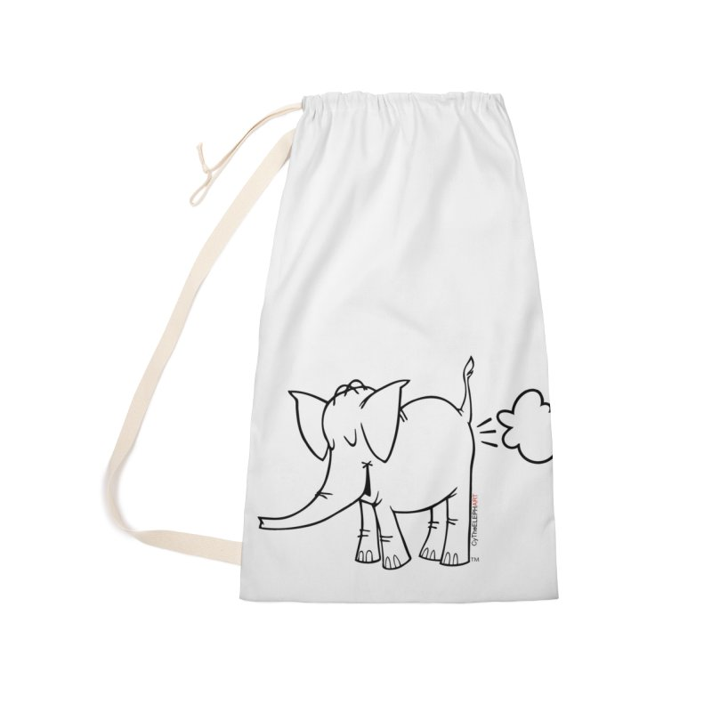 Cy The ElephArt Accessories Laundry Bag Bag by Cy The Elephart's phArtist Shop