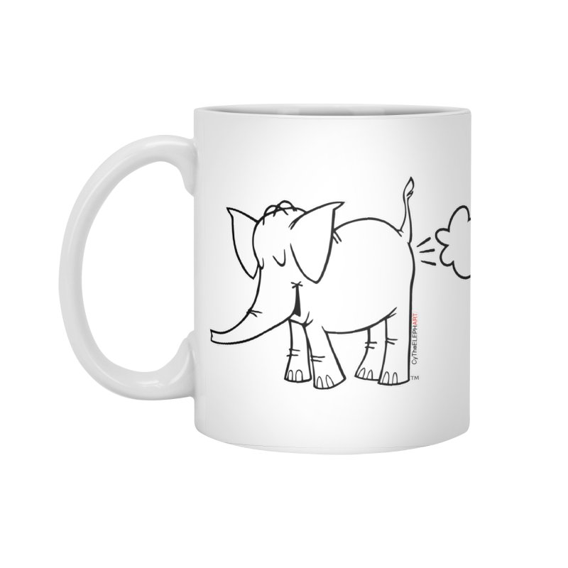 Cy The ElephArt Accessories Standard Mug by Cy The Elephart's phArtist Shop