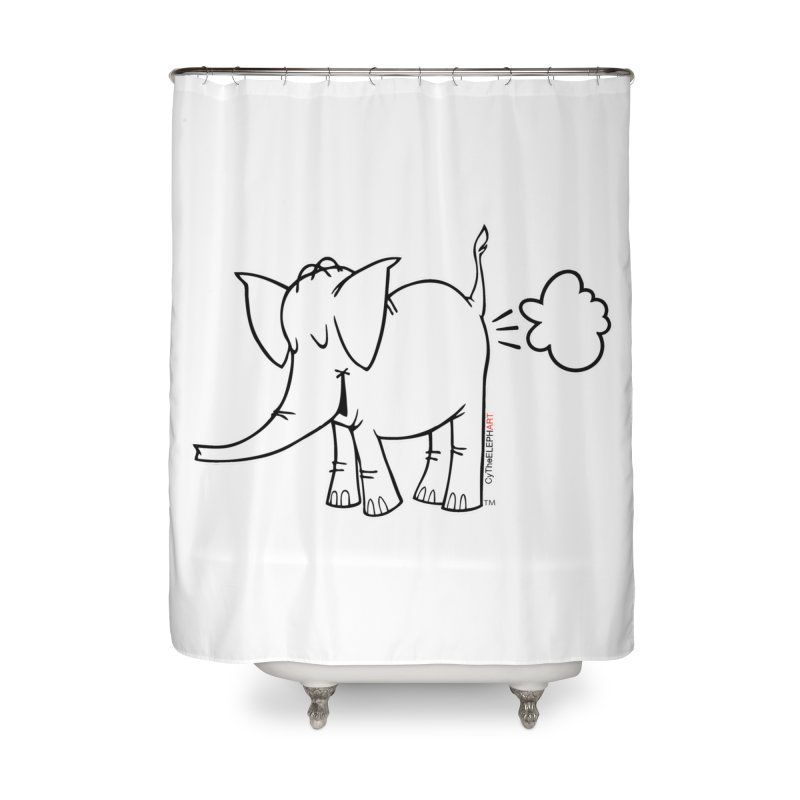 Cy The ElephArt Home Shower Curtain by Cy The Elephart's phArtist Shop