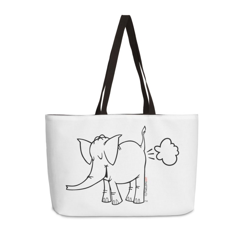 Cy The ElephArt Accessories Weekender Bag Bag by Cy The Elephart's phArtist Shop