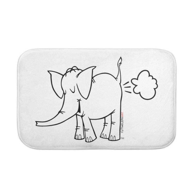 Cy The ElephArt Home Bath Mat by Cy The Elephart's phArtist Shop
