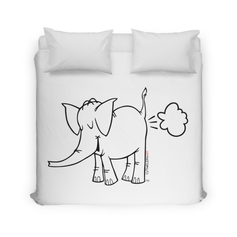 Cy The ElephArt Home Duvet by Cy The Elephart's phArtist Shop