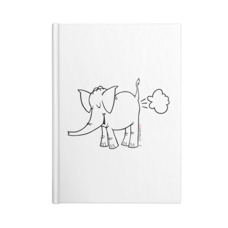 Cy The ElephArt Accessories Lined Journal Notebook by Cy The Elephart's phArtist Shop