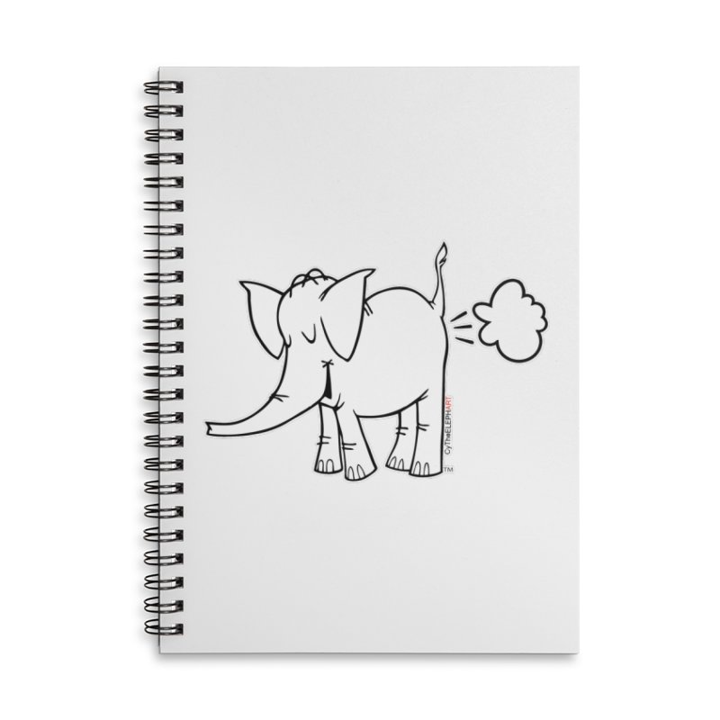 Cy The ElephArt Accessories Notebook by Cy The Elephart's phArtist Shop