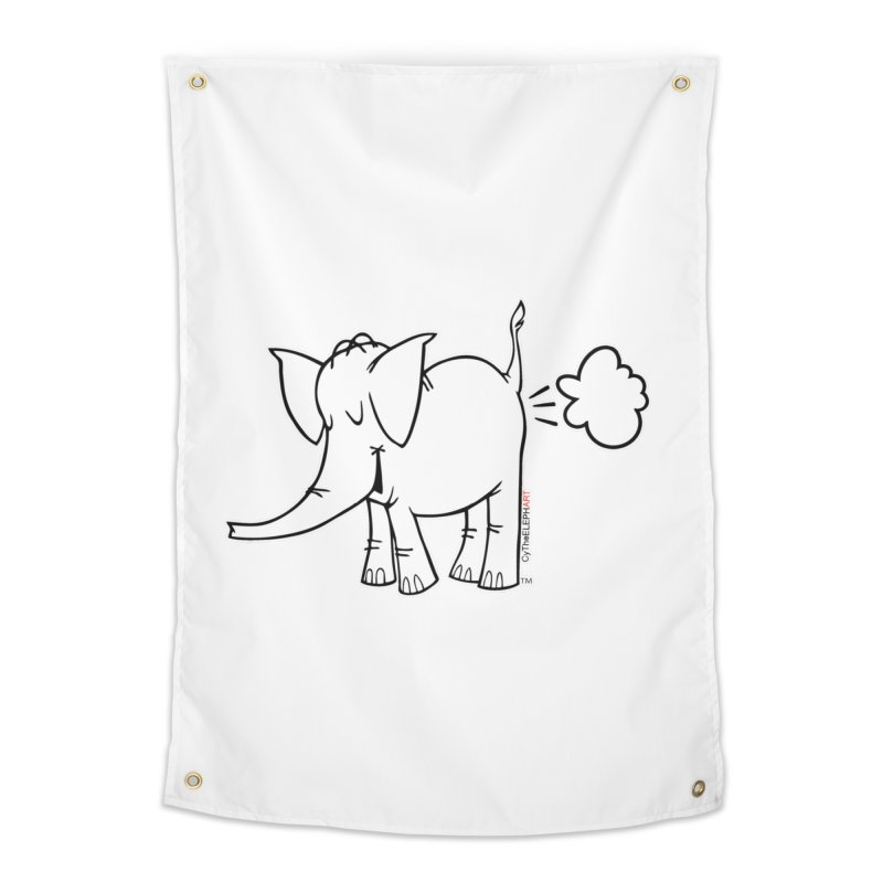 Cy The ElephArt Home Tapestry by Cy The Elephart's phArtist Shop