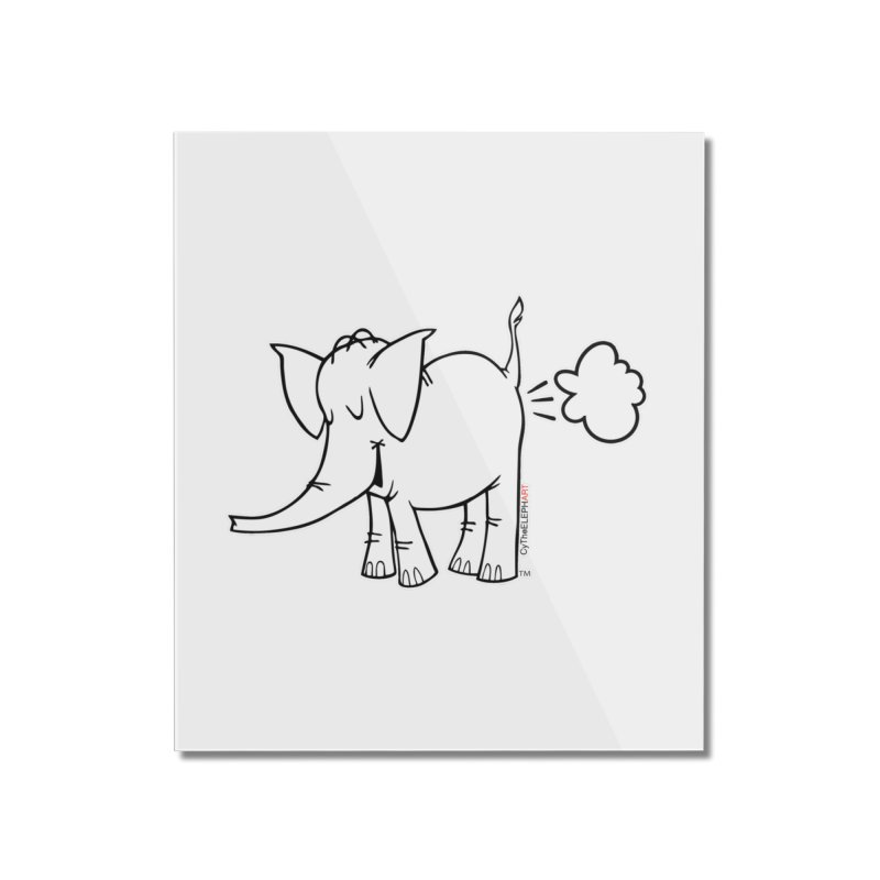 Cy The ElephArt Home Mounted Acrylic Print by Cy The Elephart's phArtist Shop