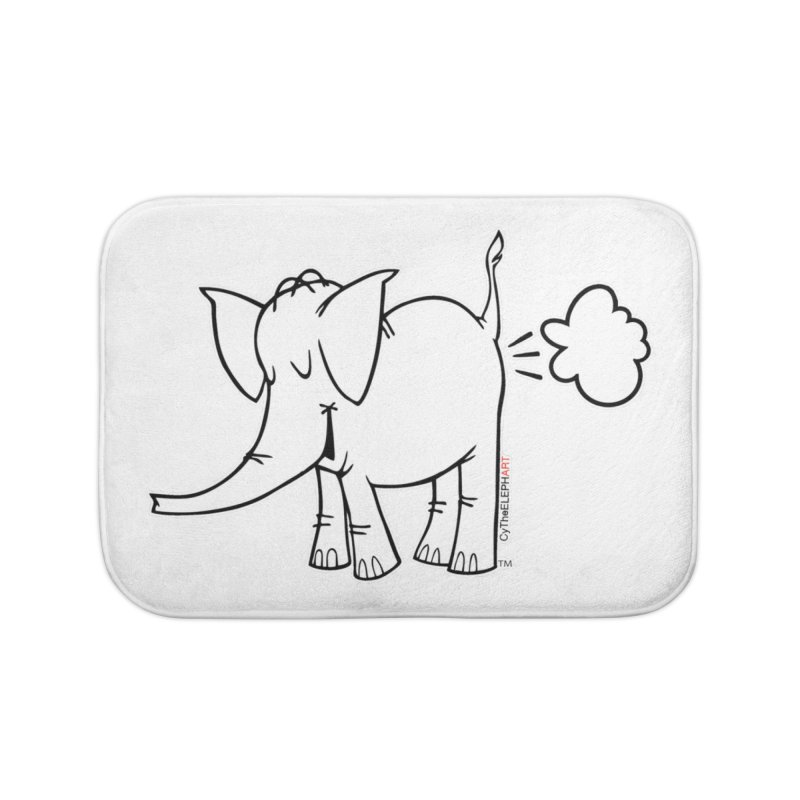 Cy The ElephArt Home Bath Mat by Cy The Elephart's phArtist Shop