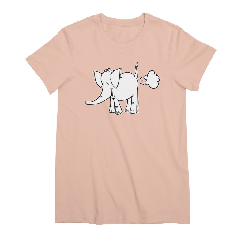 Cy The ElephArt Women's Premium T-Shirt by Cy The Elephart's phArtist Shop