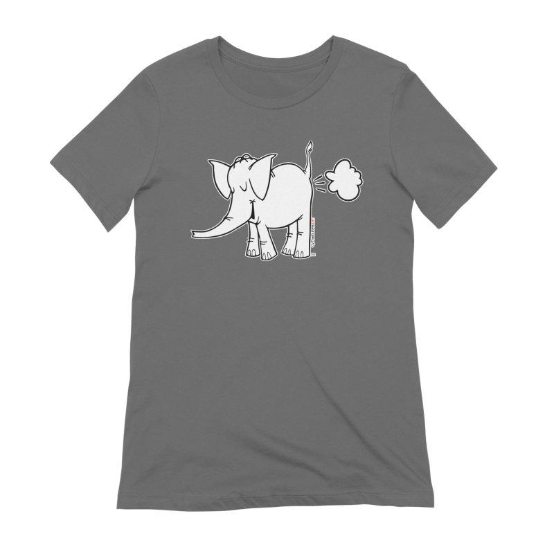 Cy The ElephArt Women's Extra Soft T-Shirt by Cy The Elephart's phArtist Shop