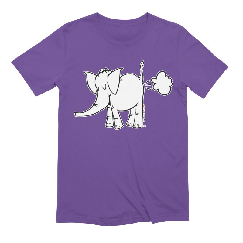 Cy The ElephArt Men's Extra Soft T-Shirt by Cy The Elephart's phArtist Shop