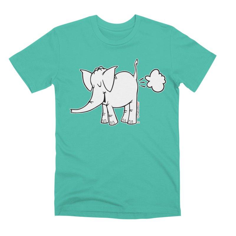 Cy The ElephArt Men's Premium T-Shirt by Cy The Elephart's phArtist Shop