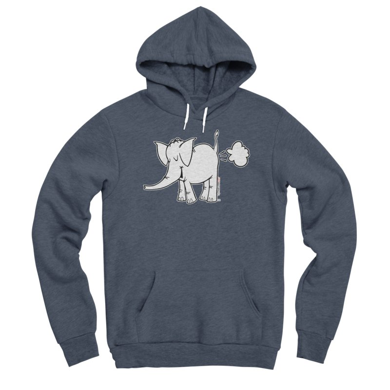 Cy The ElephArt Men's Sponge Fleece Pullover Hoody by Cy The Elephart's phArtist Shop