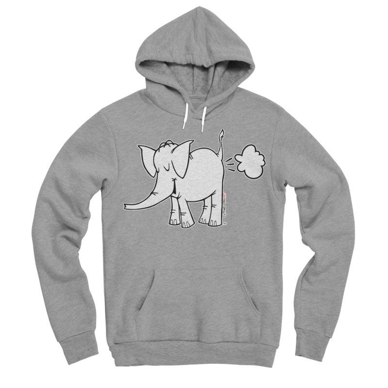 Cy The ElephArt Men's Sponge Fleece Pullover Hoody by Cy The Elephart's phArtist Shop