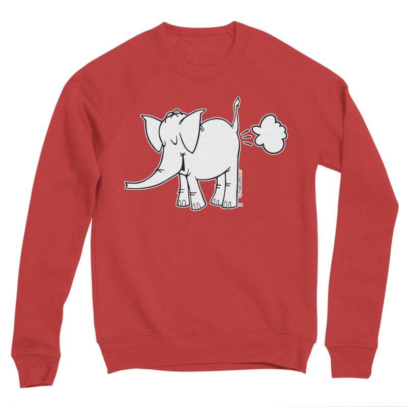Cy The ElephArt Men's Sponge Fleece Sweatshirt by Cy The Elephart's phArtist Shop