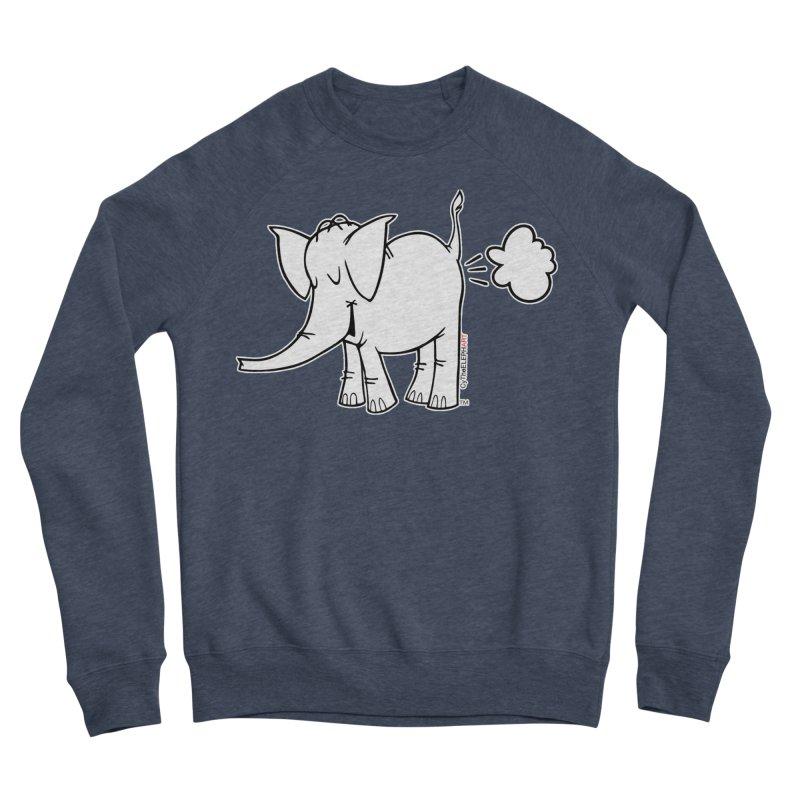 Cy The ElephArt Women's Sponge Fleece Sweatshirt by Cy The Elephart's phArtist Shop