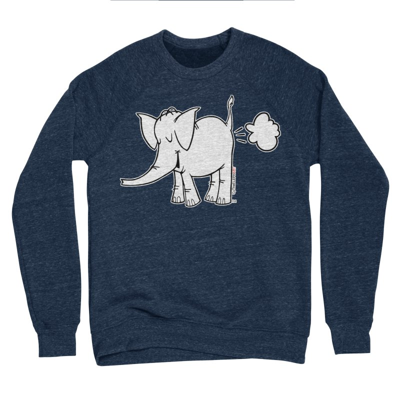 Cy The ElephArt Women's Sponge Fleece Sweatshirt by Cy The Elephart's phArtist Shop