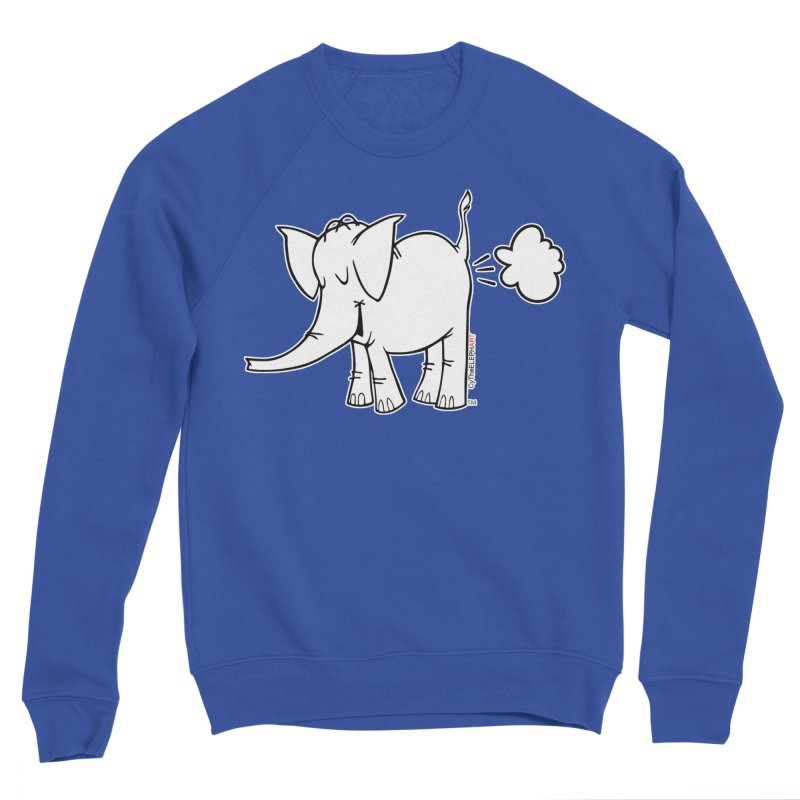 Cy The ElephArt Men's Sponge Fleece Sweatshirt by Cy The Elephart's phArtist Shop