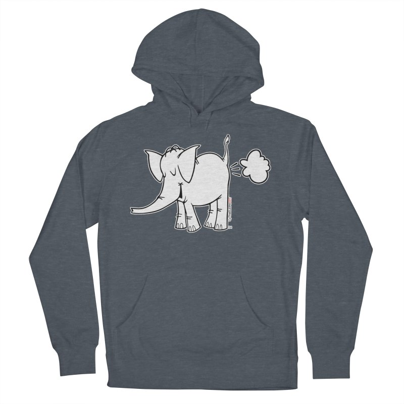 Cy The ElephArt Women's French Terry Pullover Hoody by Cy The Elephart's phArtist Shop