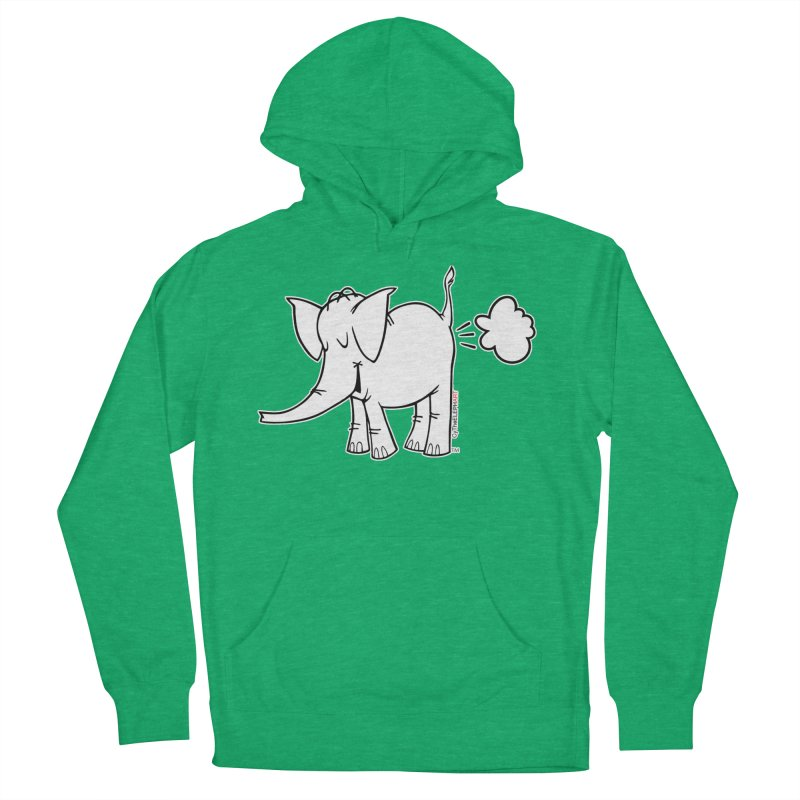 Cy The ElephArt Men's French Terry Pullover Hoody by Cy The Elephart's phArtist Shop